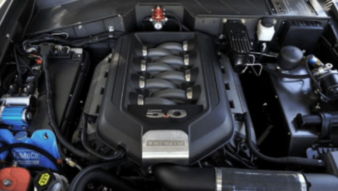 Ford Bronco 2020 4 Door Engine