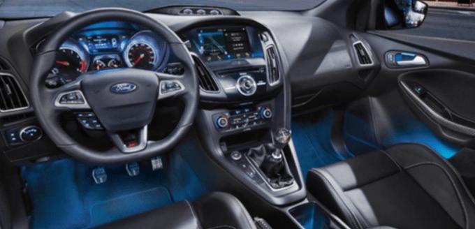 2021 Ford Focus ST Interior