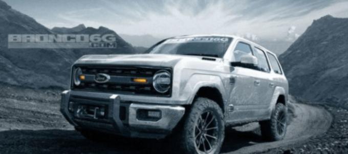 2021 Ford Bronco 4 Door