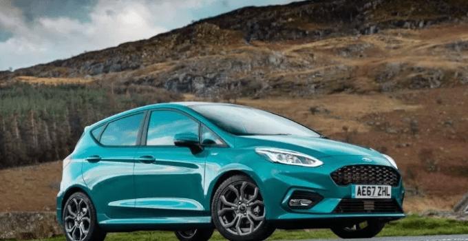 2021 Ford Fiesta Exterior