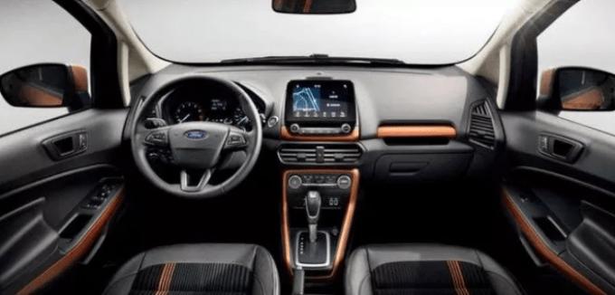 Ford Ecosport 2021 Interior