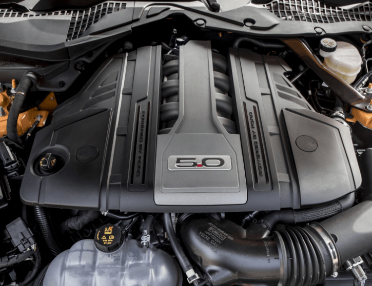 New 2021 Ford Mustang Engine