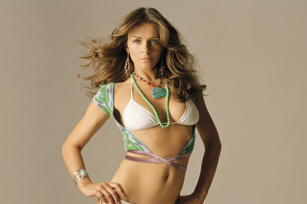 20 Sexy Celebrities You Won't Believe Are in Their 50's - Elizabeth Hurley