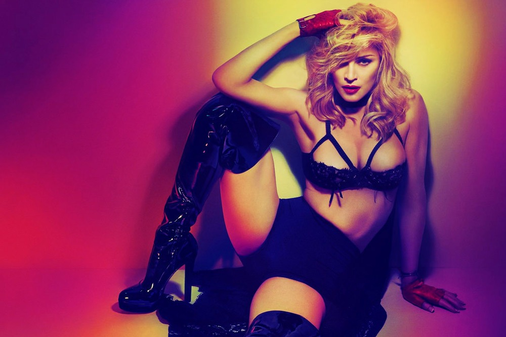 20 Sexy Celebrities You Won't Believe Are in Their 50's - Madonna