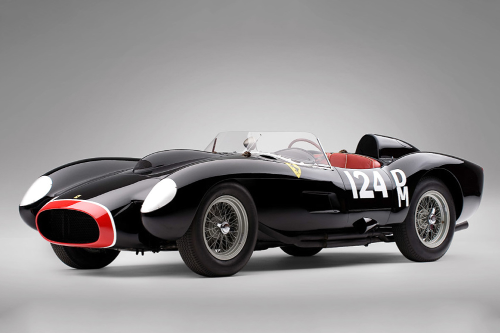 Most Expensive Auctions Items Ever Sold in History of Man - 1957 Ferrari 250 Testa Rossa