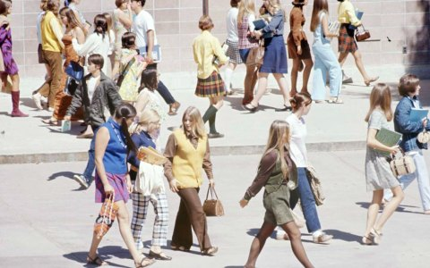 Take Us Back to the High School Fashion Trends of 1969