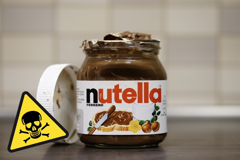 Ten Foods That Are Bad and You Should Never Eat - Nutella