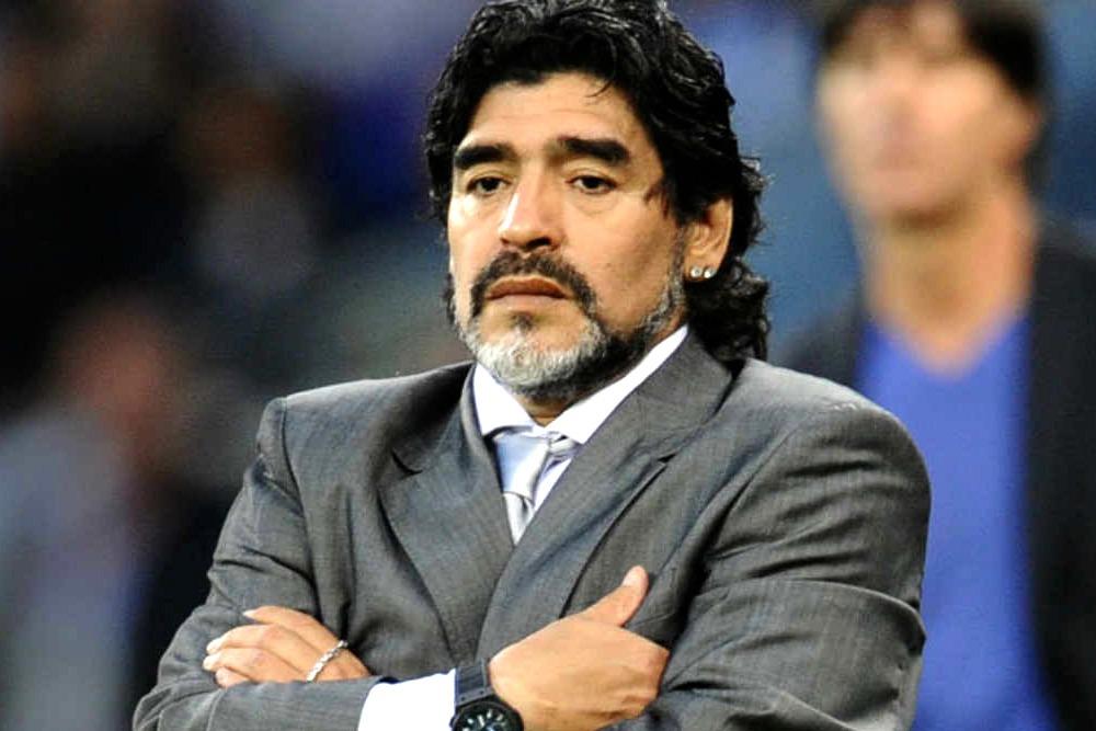 Elite Sport Stars that Went From Big to Broke - Diego Maradona