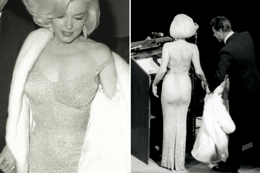 Most Expensive Auctions Items Ever Sold in History of Man - Marilyn Monroe's Happy Birthday Mr. President Dress