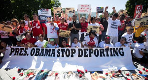 Millions of people were deported during the Obama era, a record. There were consistent protests against his immigration policy.
