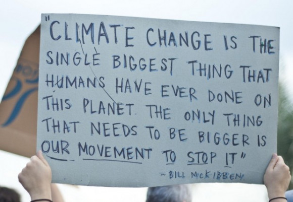 Climate change is big the movement needs to be bigger