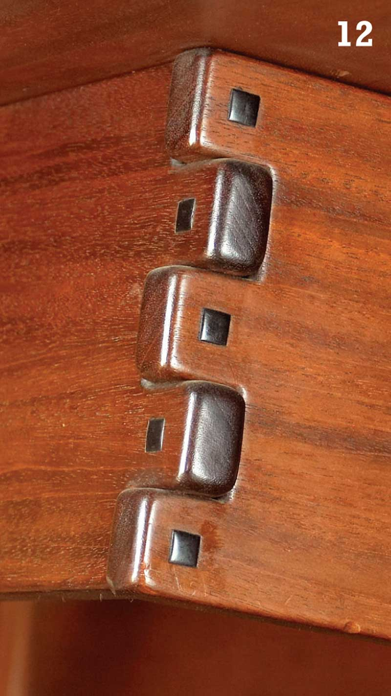 AW Extra 6613 Greene And Greene Furniture Details
