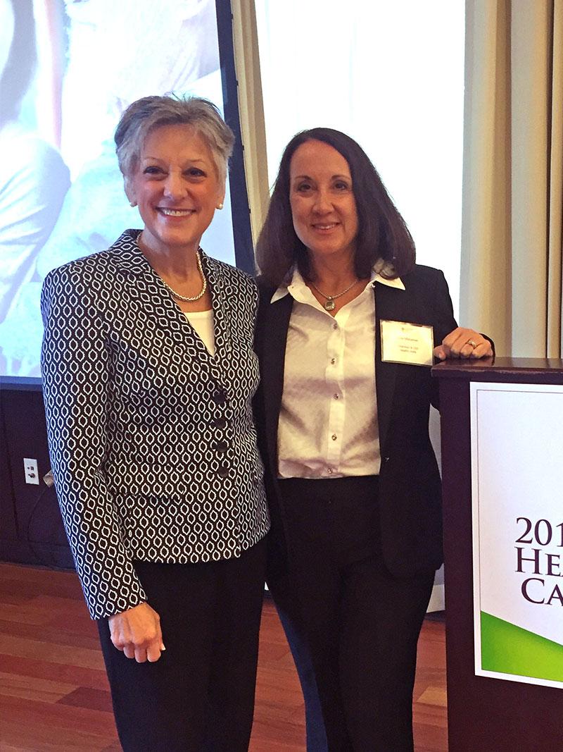 Rose Maljanian and Congresswoman Allyson Schwartz