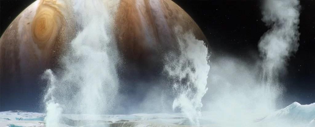 Вода на спутнике Юпитера