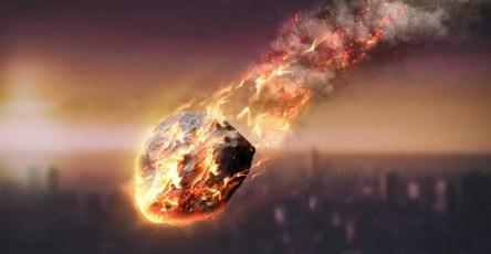 Метеорит мог разрушить одно из первых поселений