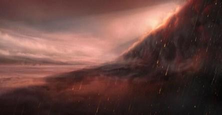 На экзопланете обнаружили дожди из железа