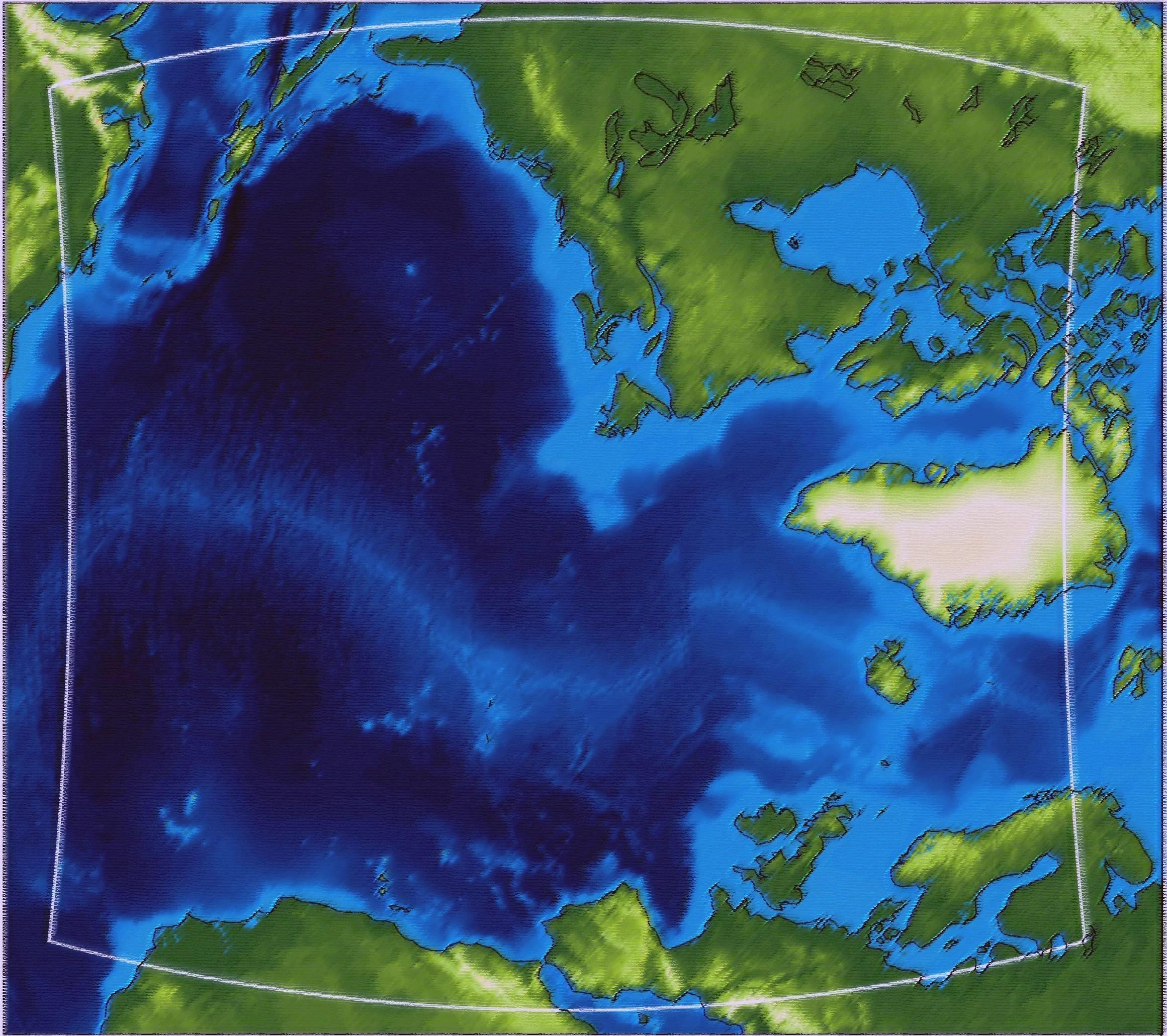 Построена модель атмосферы над Атлантикой