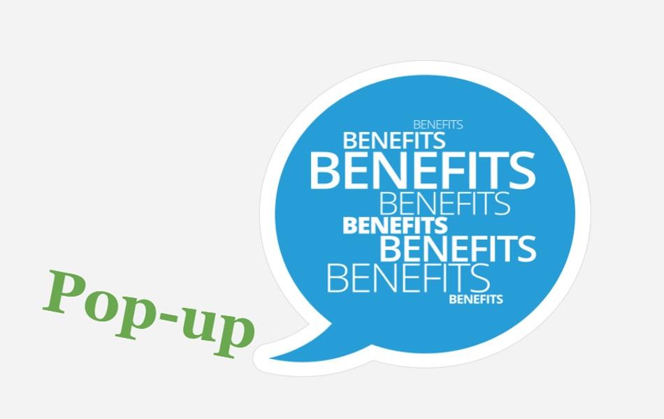 Popup Benefits photo