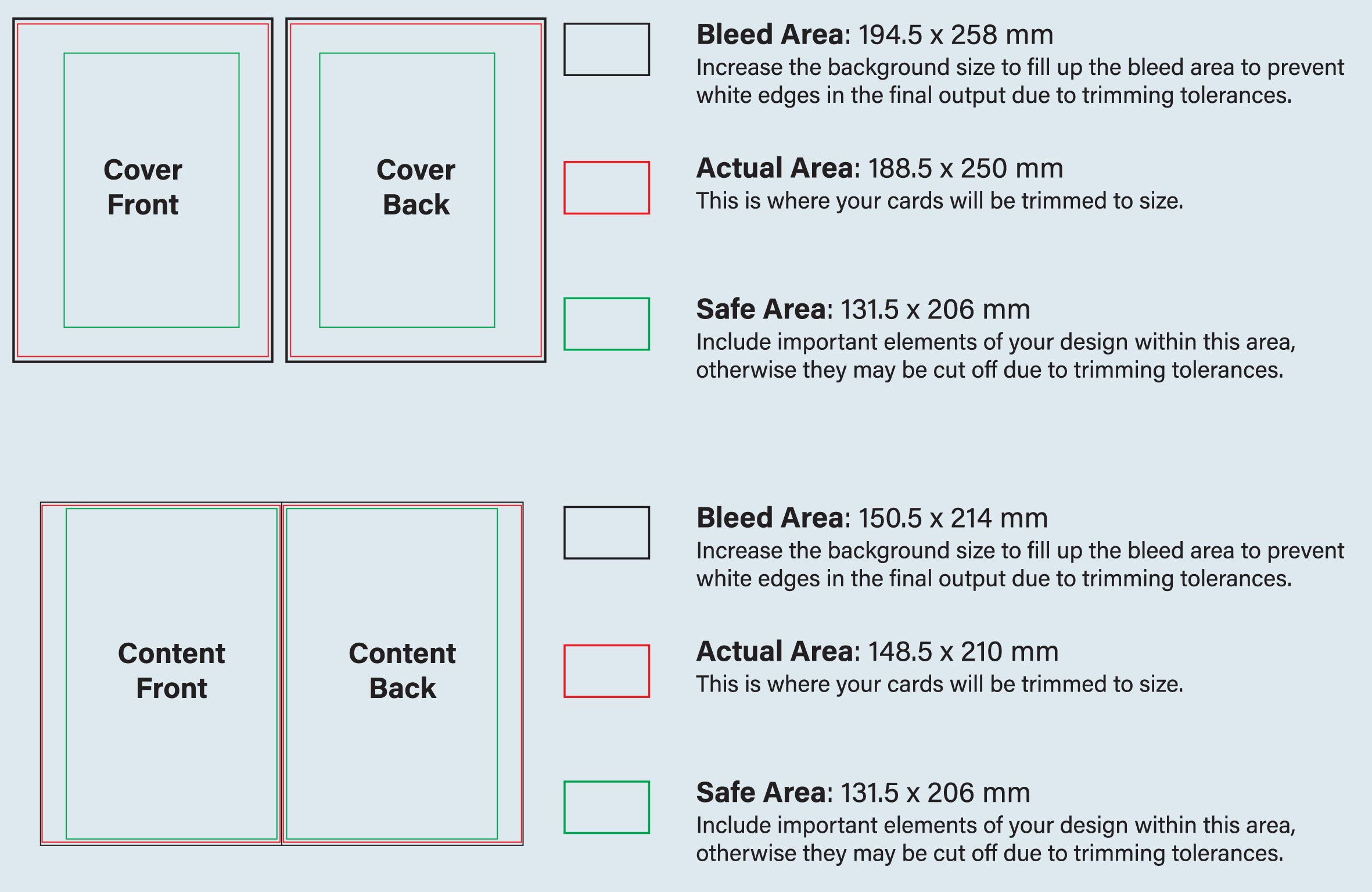 Hardcover Notebook Design Guideline