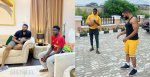 Williams Uchemba's adopted son, Demola moves into his home, spotted playing basketball together (Video)