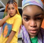 Lil Frosh's Girlfriend Reacts After He Denied Beating Her Up (Photos)