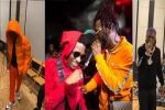 Wizkid, Burna Boy Rehearse 'Ginger' Together Ahead Of Live Performance (Video)