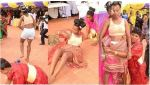Moment Bride runs mad on her wedding day, after she was attacked village people (Photos)