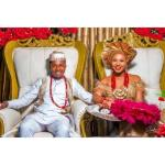 """Samuel Ajibola marries his class captain in primary school who always writes his name in a """"list of noisemakers"""""""