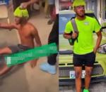 """""""I no fit kill my mama for money"""" – Suspected yahoo boy cries out while running naked (Video)"""