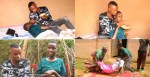 Touching Story of A man who has vowed not To give up on his Girlfriend Despite her Unable to Work and do anything for herself ( Video)