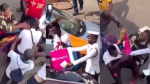 Pickpocket receives a lot of slaps from woman he tried stealing from (video)