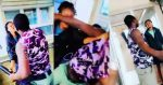 Video Of Lady Assaulted By A Policeman Alleged To Be Drunk At A Beach In Lagos(Video)