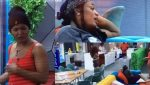 #BBNaija: Watch As Liquorose and Beatrice rain insults on each other, accuses Beatrice of gossiping about her (Video)