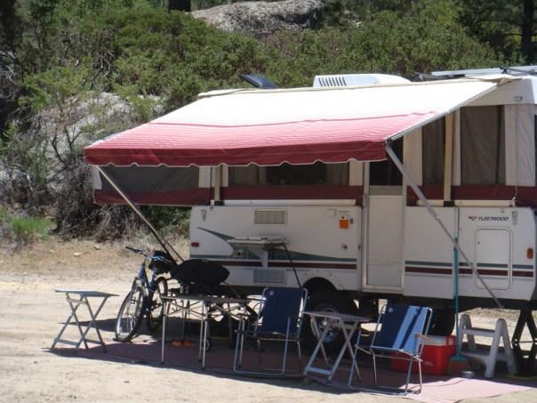 Shademaker Supreme Tent Trailer Awning Popupbackpacker