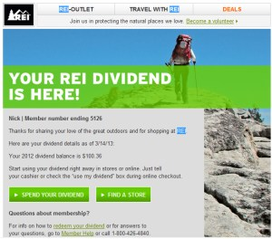 There's an art to using your REI dividend. Most are pretty small, so using them wisely can be tough. For some advice, we queried our editors, many of whom have become experts in dividend.