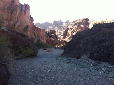 10 mile long canyon