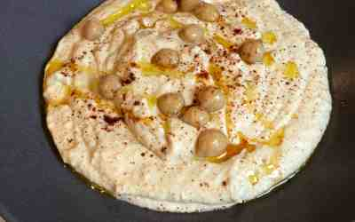 Easy Smooth Hummus