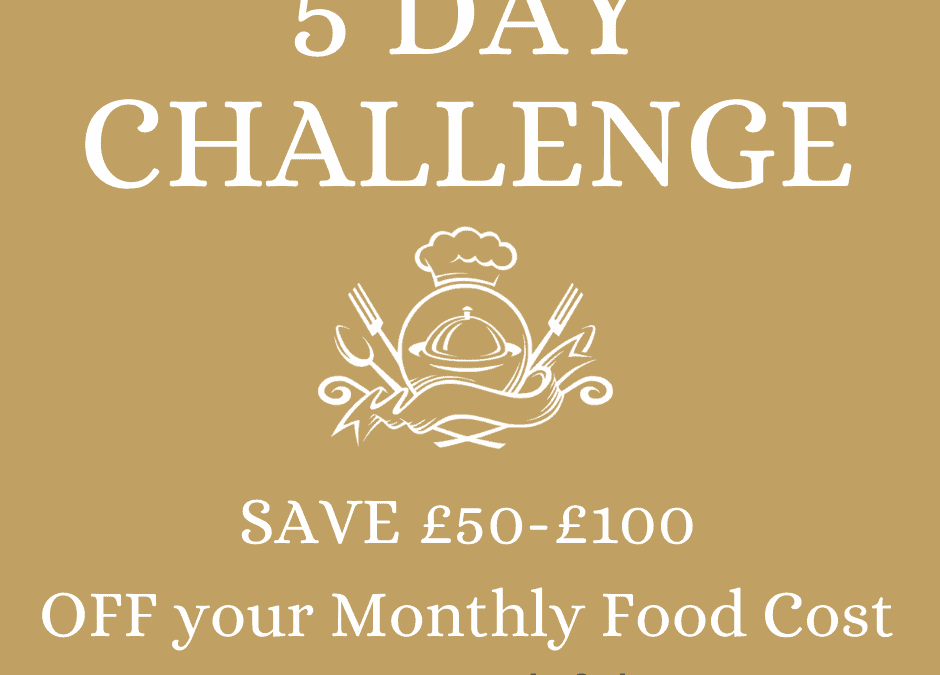 5 Day PopUp Chef Challenge.