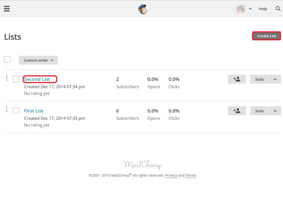 MailChimp3