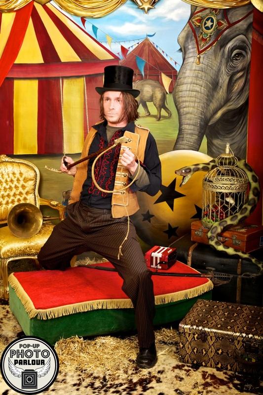 Vintage Circus Photo Set