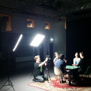 Robert Reid directs the action in a promo video for Small Time Criminals, featuring Kevin Turner, Kat Yates, Jack Beeby and James O'Donoghue.