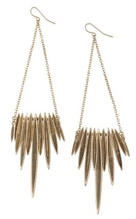 Golden Earrings | Photography: Beeline Group
