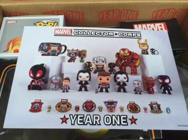 Marvel Collector Corps Year One Box Review. Spoiler Alert ...