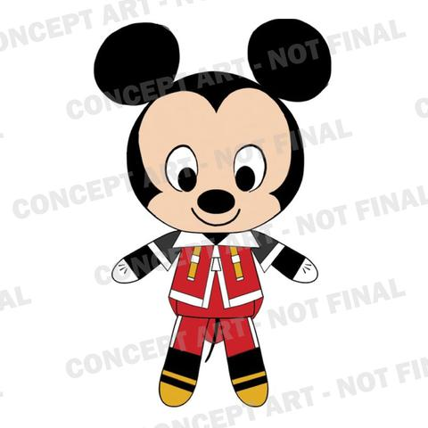 #Kingdom Hearts #Funko #Plush #2017 #Toy Fair #concept art