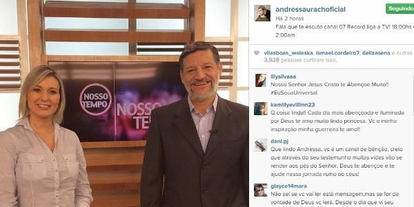 Em programa evangélico, Andressa Urach conta que fez macumba para inimigos