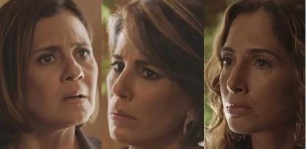 """Beatriz, Inês e Regina se encontram pela primeira vez em """"Babilônia"""""""
