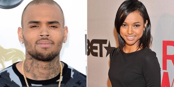 Pelo Twitter, namorada de Chris Brown termina namoro