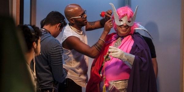 """Leandro Hassum interpreta Capitão Gay em quadro do """"Fantástico"""""""
