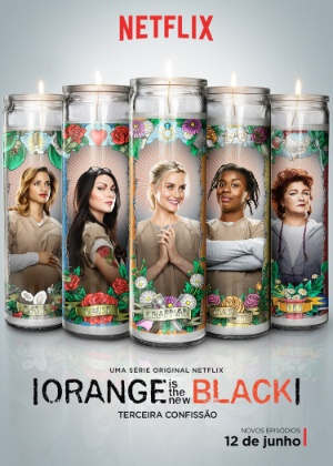 "Detentas ilustram velas religiosas em pôster de ""Orange Is The New Black"""