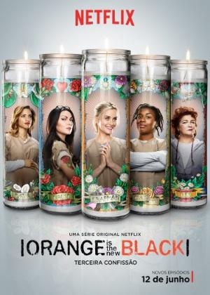 "Detentas ilustram velas religiosas em pôster de ""Orange Is The New Black"""
